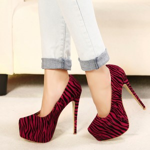 2014-New-women-shoes-autumn-fashion-pumps-leopard-platform-closed-toe-super-high-heel-shoe-drop
