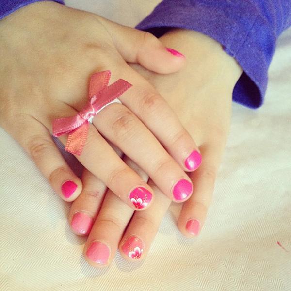 les vernis 224 ongles pour les petites fressine le de la mode
